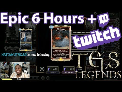 Biki's Twitch Archive 2: Dragon Priest Mask | Deck Crafting | Rank | Funny & Fun With TES Legends
