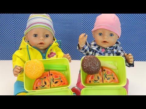 Куклы СОБИРАЕМ НА УЛИЦУ Беби Бон Мультик Для девочек Игрушки для детей Мама и дочка