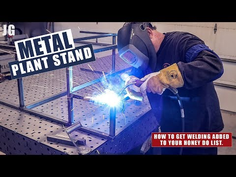 Metal Plant Stand Build | JIMBO'S GARAGE