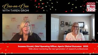 Suzanne Kincaid, Aperio Clinical Outcomes – 2020 PharmaVOICE 100 Celebration