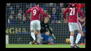 Leicester City 0 - 3 Manchester United All Goals & Highlights - Premier League // 05-02-17