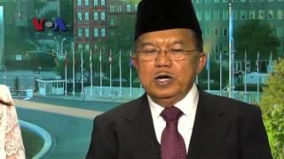 Wawancara VOA dengan Wapres Jusuf Kalla tentang Presiden Jokowi Tidak Pernah ke PBB