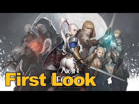 Aion: Legions Of War Gameplay First Look (Mobile RPG) - MMOs.com