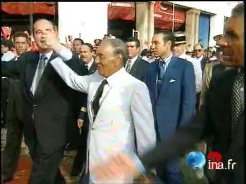 Chirac au Maroc