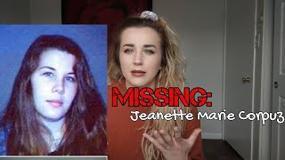 MISSING PERSON: JEANETTE CORPUZ | SUSPECT DEAD!
