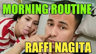 MORNING ROUTINE KITA.... #RANSTHEWORLD #RAFFIAHMAD #NAGITASLAVINA #RAFATHAR