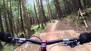 Half Nelson Trail, Squamish, BC: First Time Down This Awesome Trail