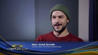 Entrevue Cineplex - Marc-André Grondin dans Avril et le monde truqué