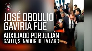 José Obdulio sufrió un desmayo y senador de Farc lo auxilió | Noticias| El Espectador