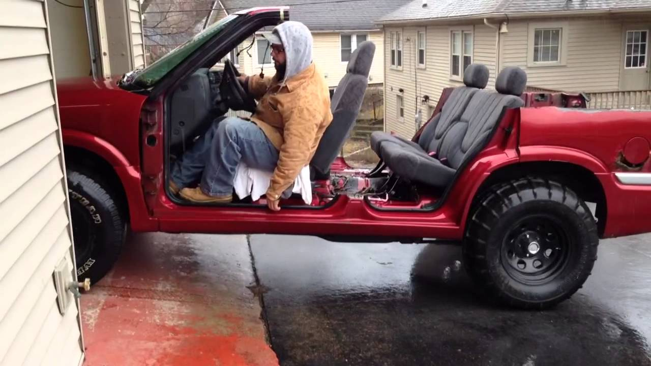 Convertible GMC JIMMY SUV Safari Project - YouTube