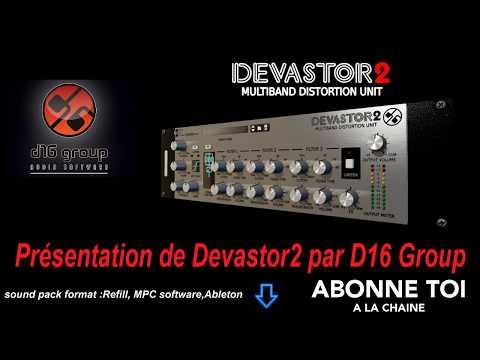 """abc du beatmaking """"#propellerheads Présentation de #Devastor2 par #D16Group"""