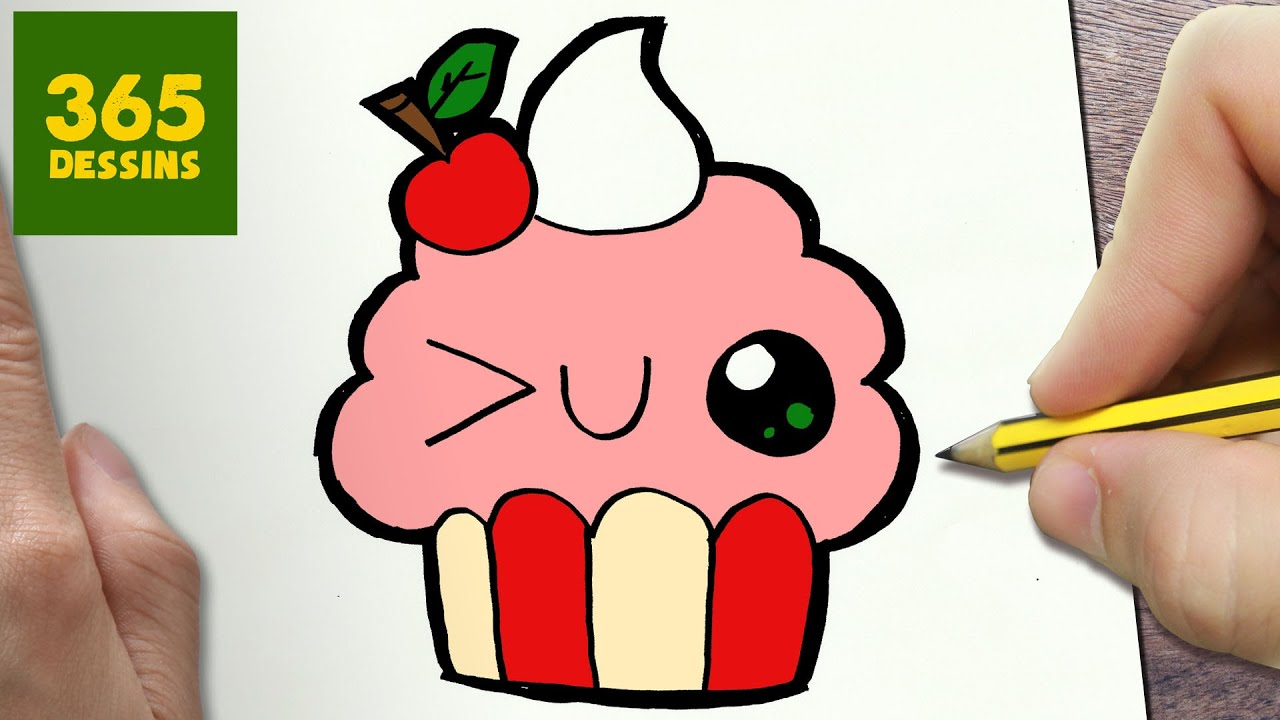Comment dessiner cupcake kawaii tape par tape dessins kawaii facile youtube - Dessins a dessiner facile ...