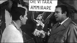 Nino Manfredi Mario Brega e Catherine Spaak in La Parmigiana, un film di Antonio Pietrangeli