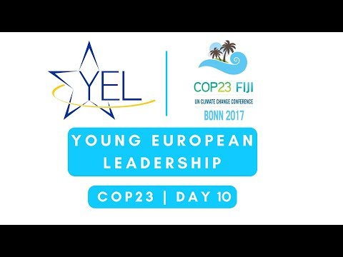 YEL @ COP23 - Day 10: A Healthy Planet for Healthy People