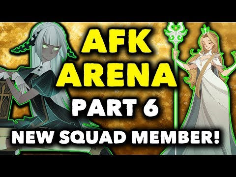 AFK Arena Gameplay: #6 - NEW SQUAD MEMBER! - Walkthrough Android (Guide)