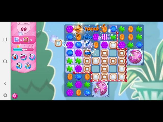 Candy Crush Saga level 5020