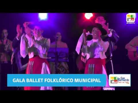 Gala ballet folklorico san bernardo - Agosto 2017