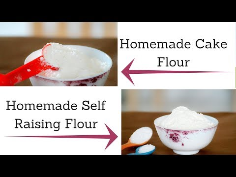 How do you make cake flour from all purpose without cornstarch