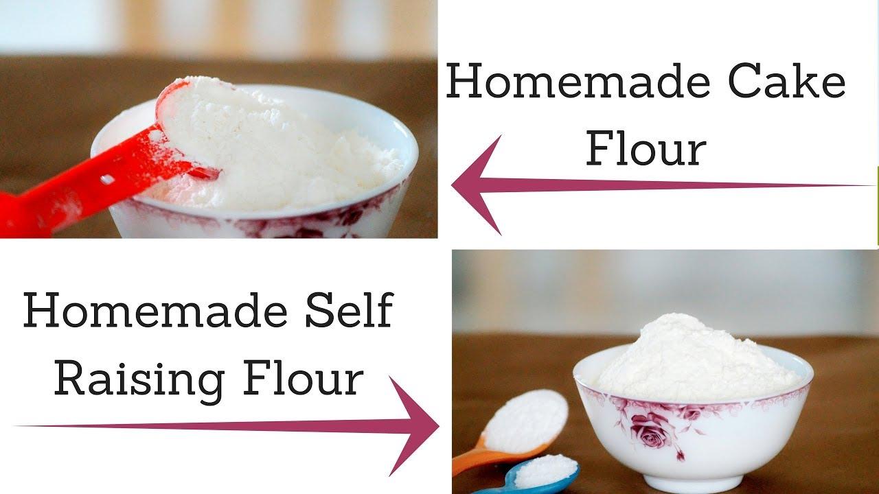 How to Make Cake Flour and Self Raising Flour at Home YouTube