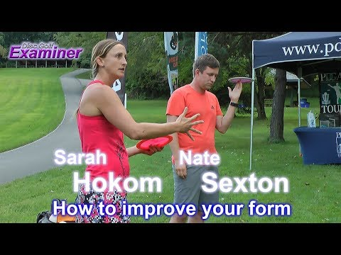 Nate Sexton and Sarah Hokom Driving Clinic  How to improve your form