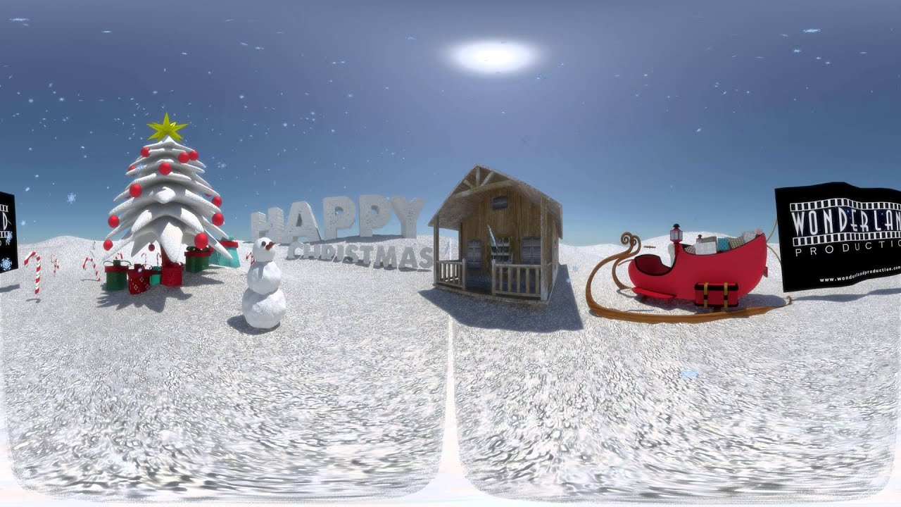 360 vr video christmas greetings card youtube m4hsunfo
