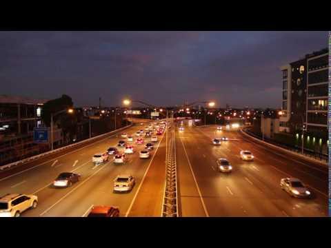 Perth City  Free Way Time Lapse
