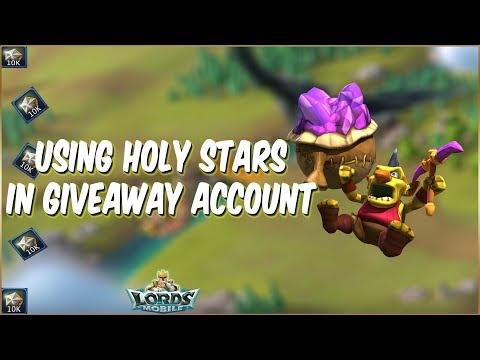 Let's Win Jackpot In Giveaway Account | Live Lords Mobile