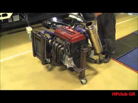 B16B Type R MotoR On Ground