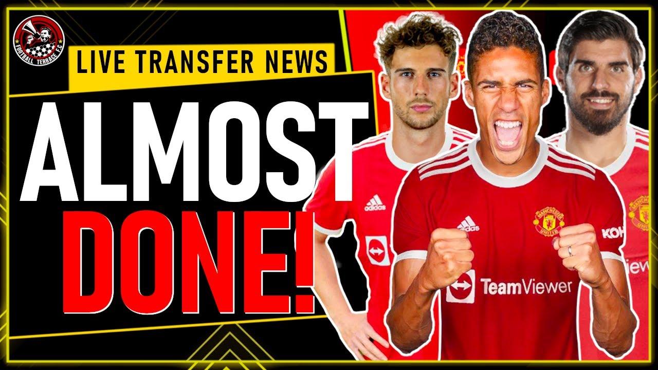 "VARANE Transfer ""ALMOST DONE"" Who is NEXT? Man Utd Transfer News"