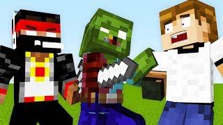Minecraft [Прохождение Карты] - Безумцы xD