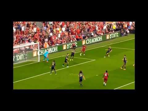Mo Salah Vs David Luiz محمد صلاح وترقيصة ديفيد لويز كاملة