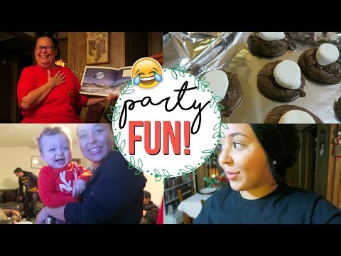 FUNNIEST NIGHT BEFORE CHRISTMAS READING EVER!! | ANNUAL CHRISTMAS COOKIE PARTY | Page Danielle