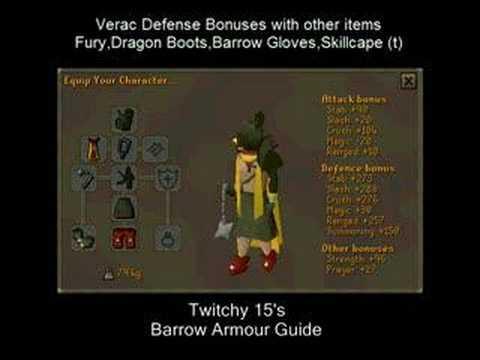 Verac Armour Guide