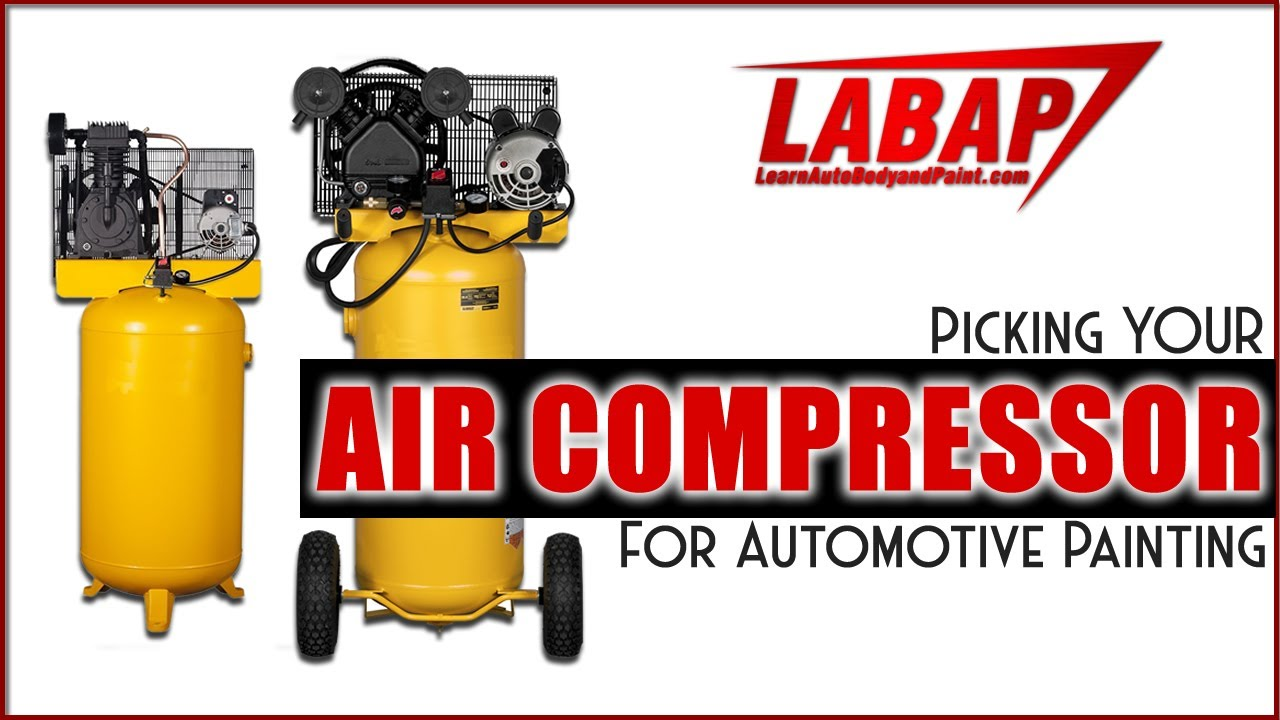 Picking Your Air Compressor For Automotive Painting Diy Garage Or Shop Air Compressors