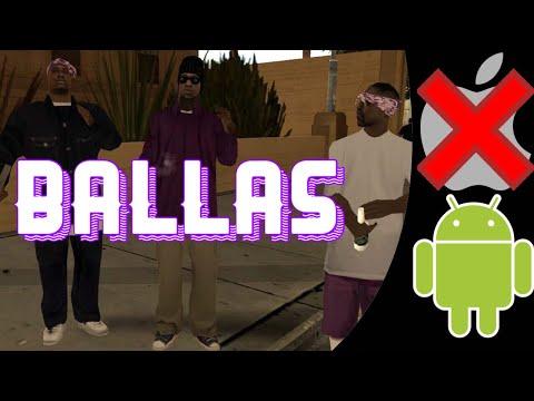 Ballas Mod For Grand Theft Auto San Andreas