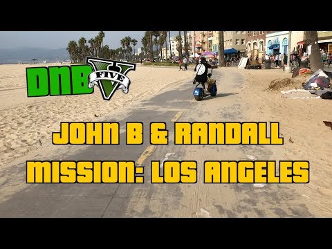 #TBT John B & Randall riding electric scooters on Venice Bea