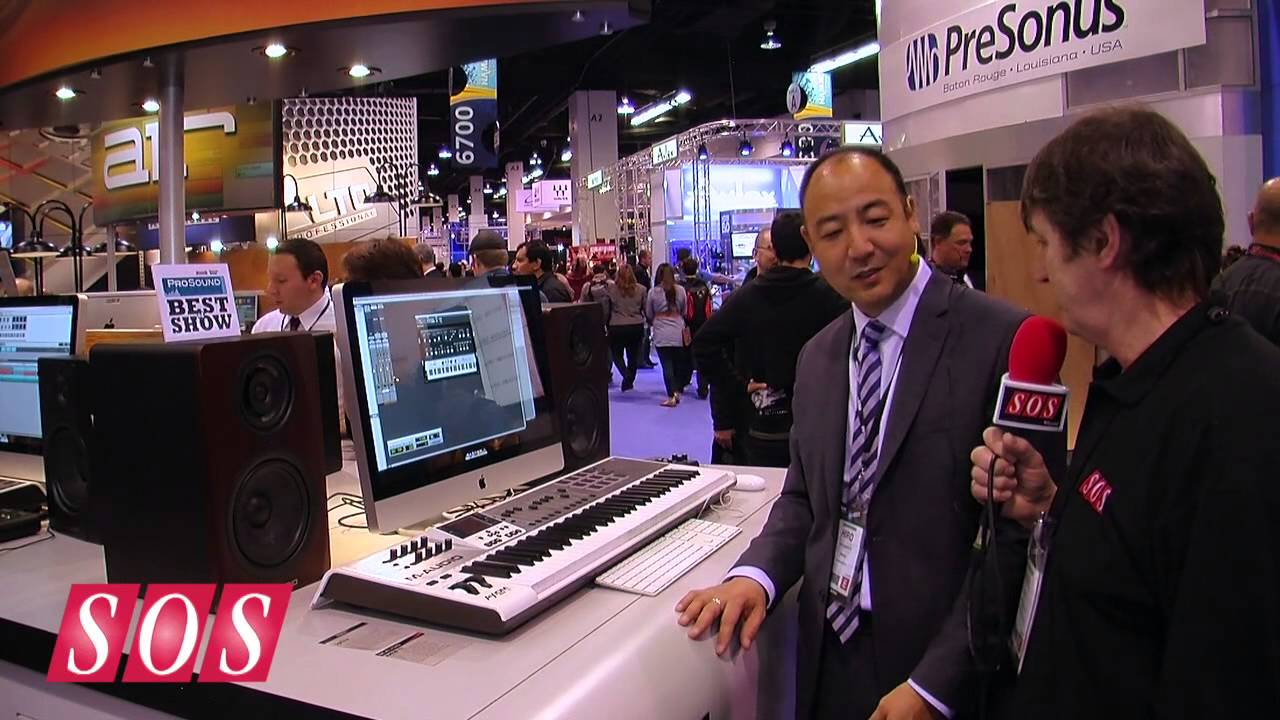 m audio axiom air 61 namm 2013 youtube. Black Bedroom Furniture Sets. Home Design Ideas