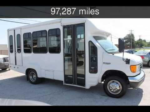 2006 Ford E350 Shuttle School Church Day Care Charter Bus Used Cars Lewisville Texas 2017 06 12