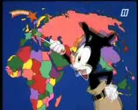 Animaniacs alle landen van de wereld youtube - Vloerlamp van de wereld ...