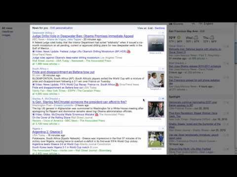 About the Google News Updates