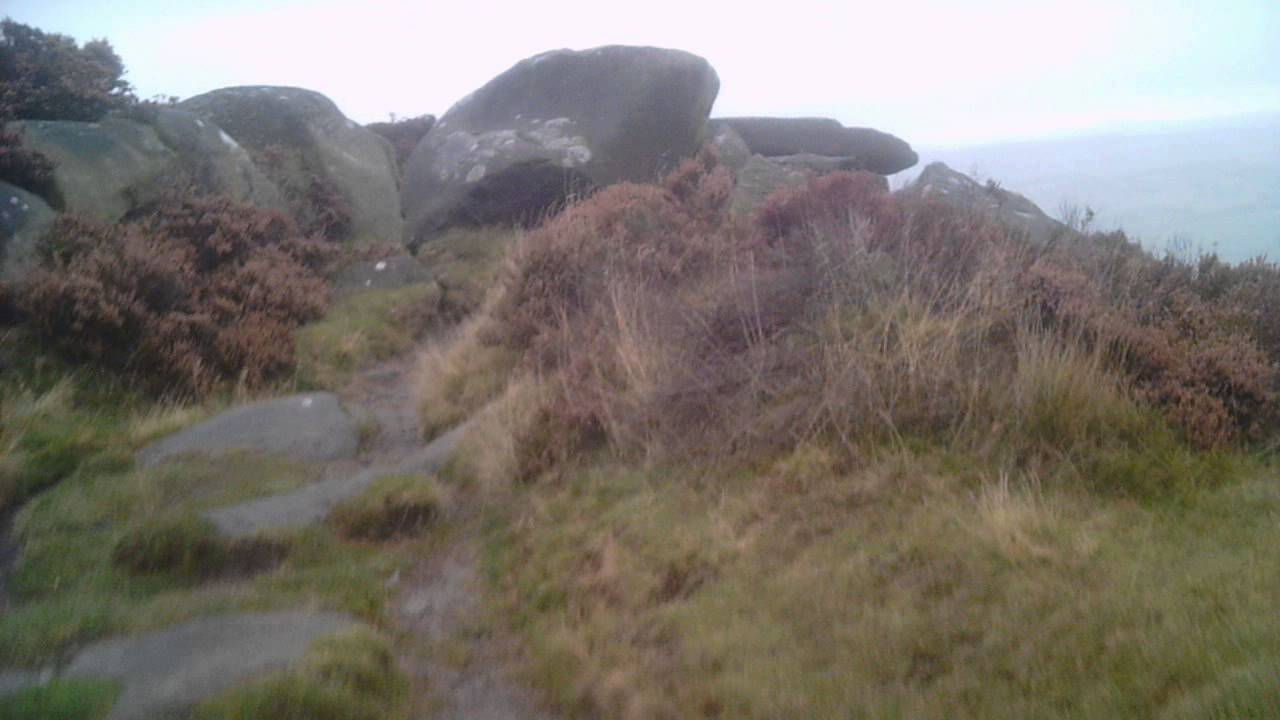 Wild camping peak District kinder scout grindslow knoll ...