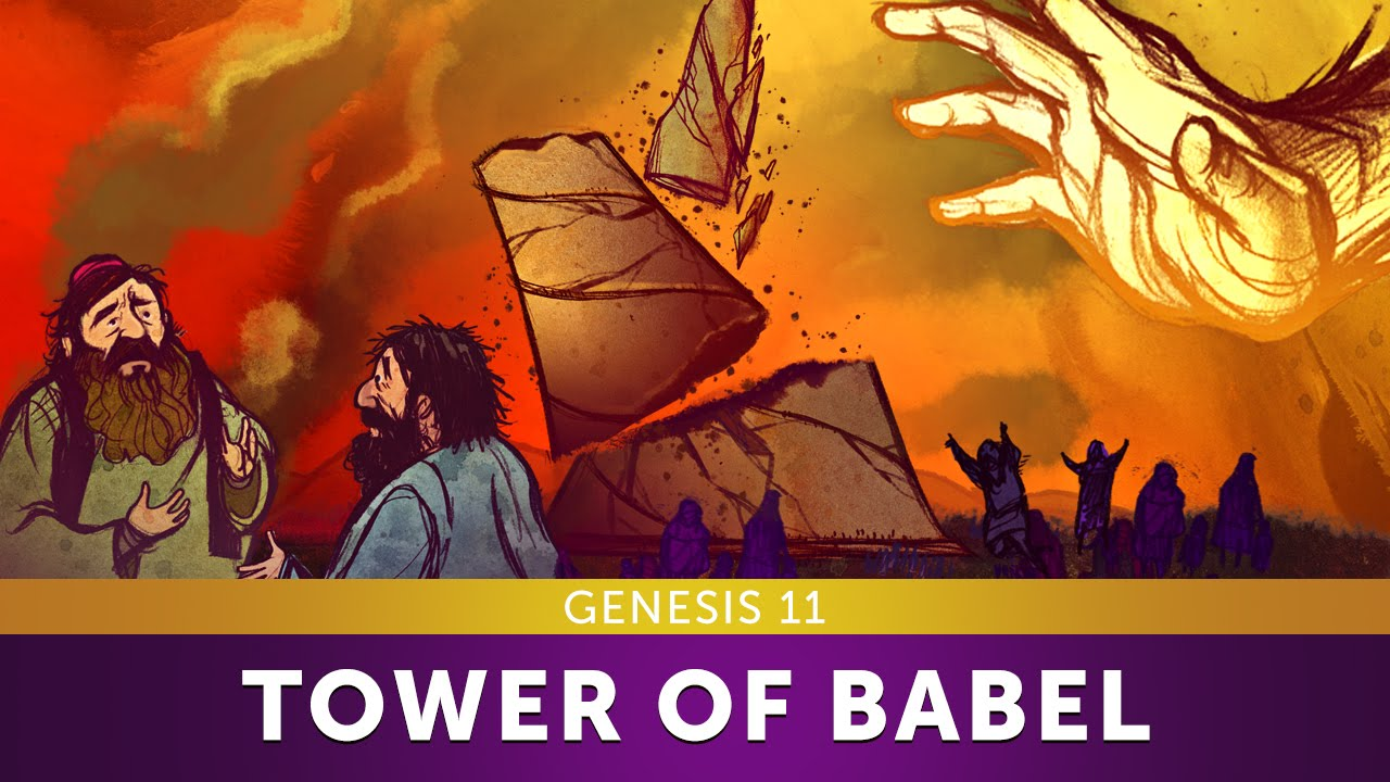 Sunday School Lesson - Tower of Babel - Genesis 11 - Bible Teaching Stories  for Christianity