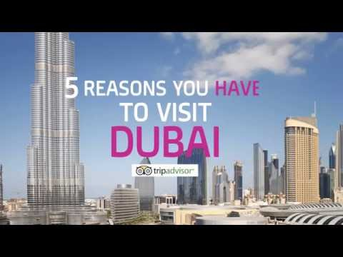 5 Reasons You Have to Visit Dubai - YouTube