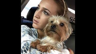 Ольга Бузова с собачкой по сериалу в котором она снимается 🎥🎥🎥