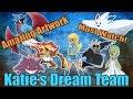 Amazing Pokemon Art | Katie's Dream Team!