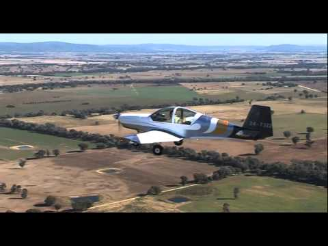 Brumby 600 low wing on a Local Flight