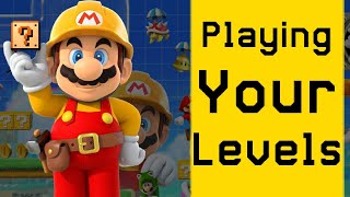 Playing your Super Mario Maker 2 levels Live #4! - Submit In Description