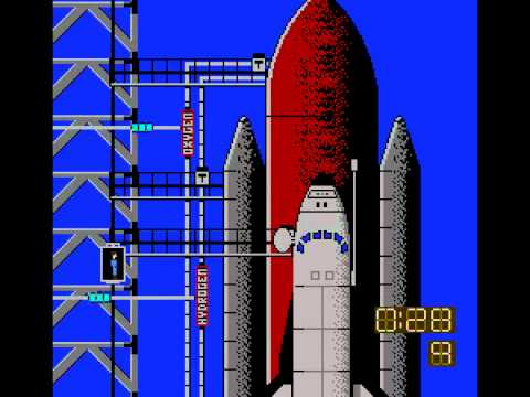 NES Longplay [241] Space Shuttle Project