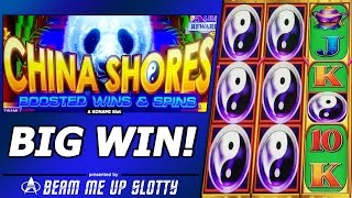 China Shores Boosted Wins and Spins slot - Free Spins/Credit Prize=Big Win!