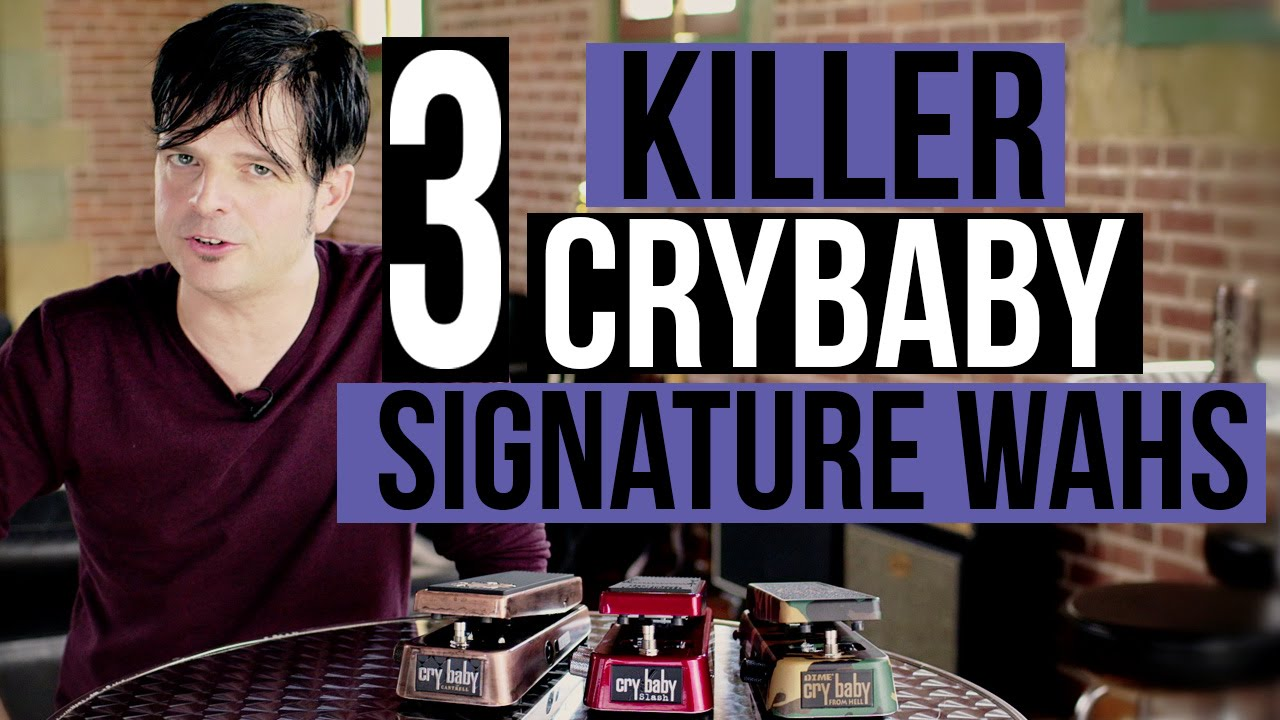 Slash, Dimebag, Jerry Cantrell Cry Baby Wah Pedals Demo w/Paul Riario